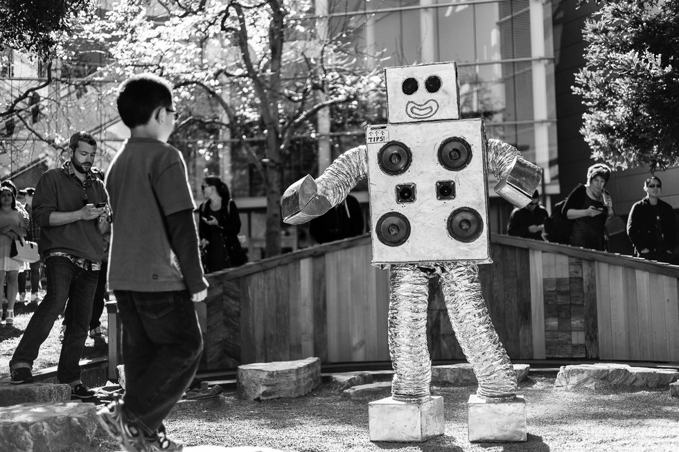 Encounter With A Dance Robot