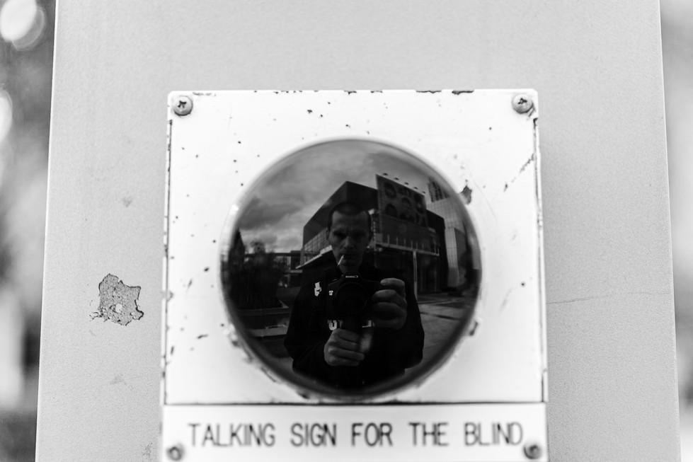 Self Portrait 24 - Talking Sign