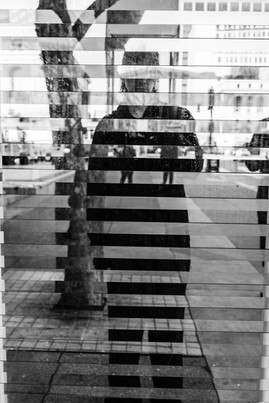 Self Portrait 4280 - Mirrored Slats