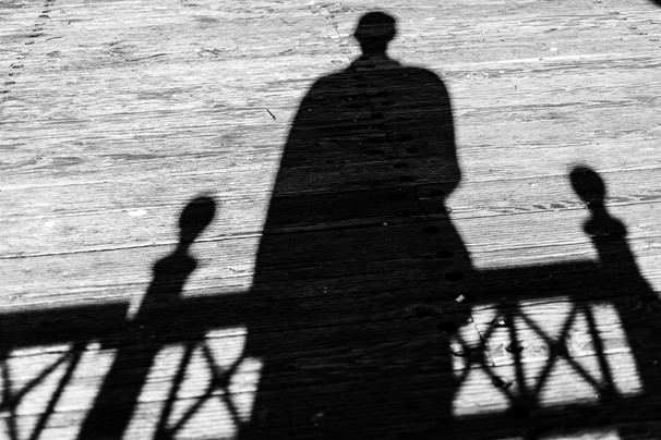 Self Portrait 63 - Pier Shadow