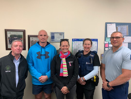 Working with local Police in recreation