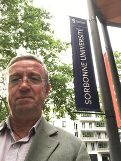 Presenting at Sorbonne