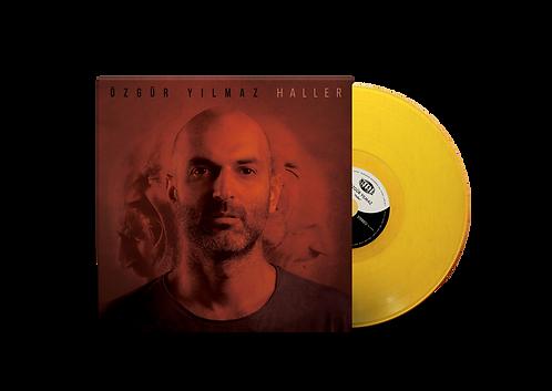 """ÖZGÜR YILMAZ """"Haller"""" 12"""" Limited Edition Yellow LP"""