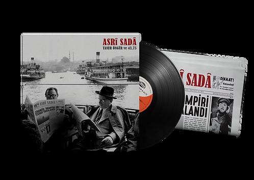 """TANER ÖNGÜR & 43,75 """"Asrî Sadâ"""" Black LP"""