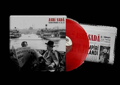 "TANER ÖNGÜR & 43,75 ""Asrî Sadâ"" Kırmızı LP"