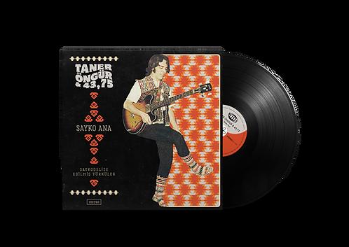 "TANER ÖNGÜR & 43,75 ""Sayko Ana"" 12"" Black LP"