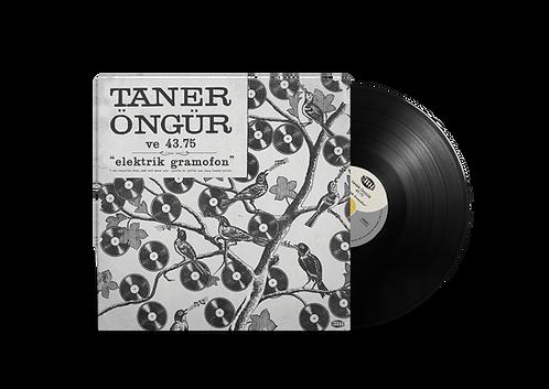 """TANER ÖNGÜR """"Elektrik Gramofon"""" 12"""" Black version"""