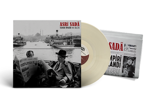 "TANER ÖNGÜR & 43,75 ""Asrî Sadâ"" Beige LP"