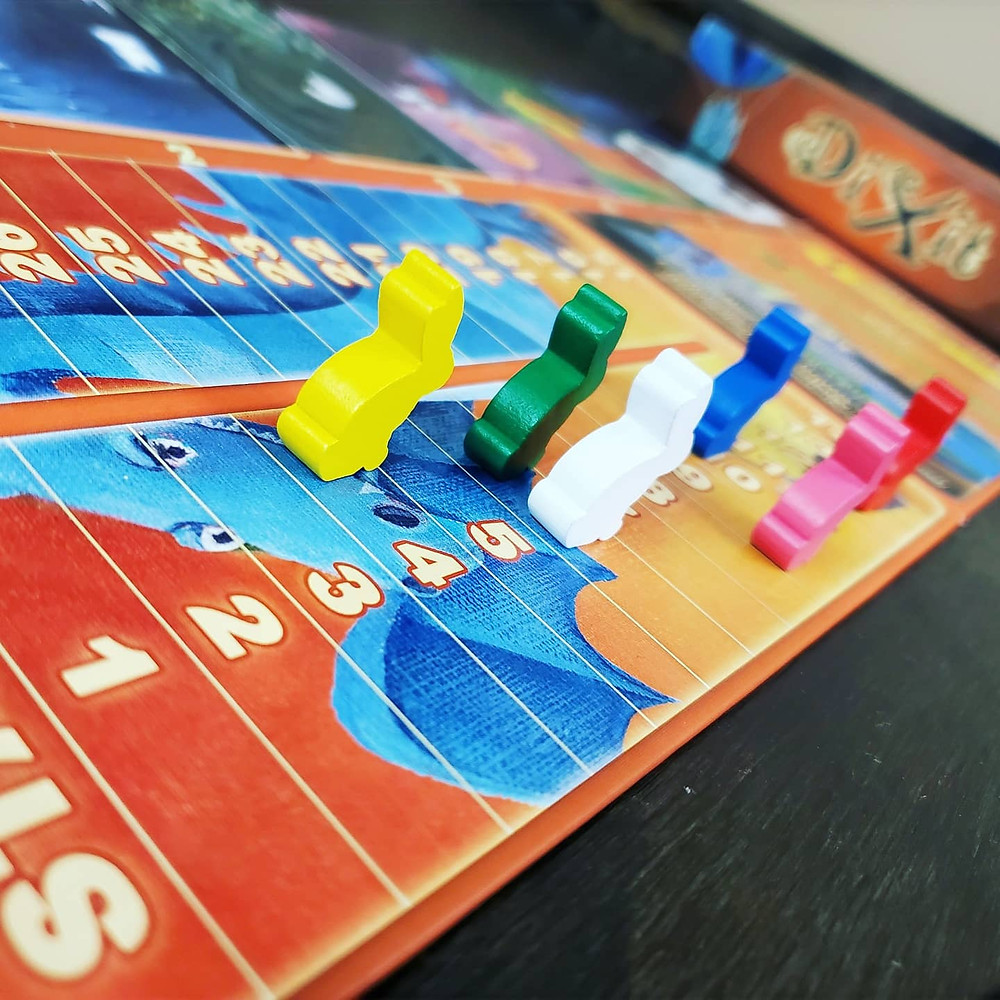 The scoring track in Dixit