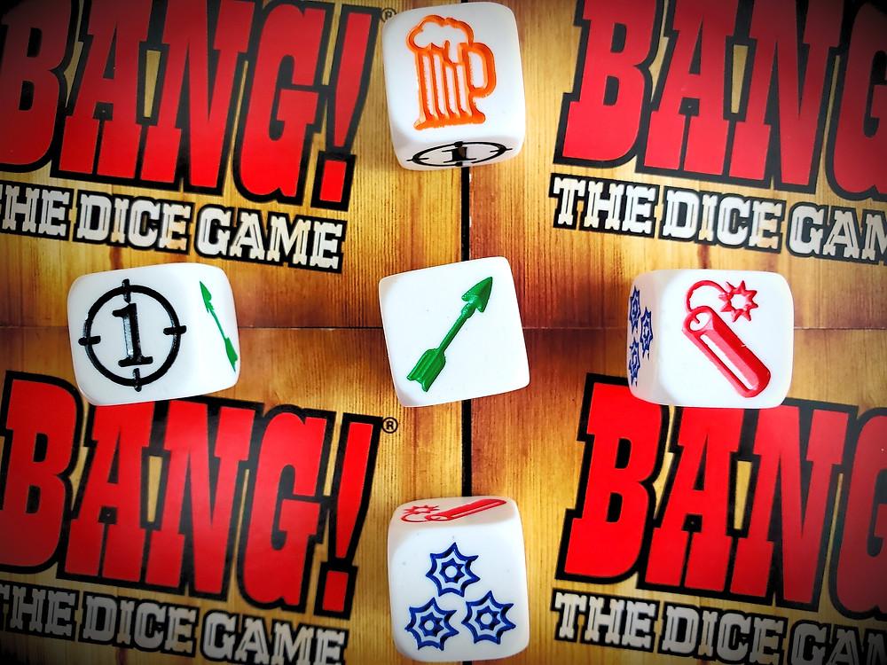 Dice Symbols in Bang! The Dice Game