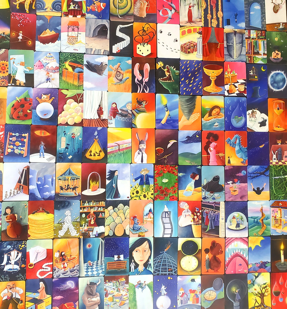 Art Cards in Dixit
