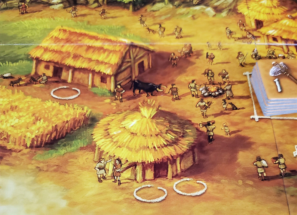 The Hut action space in Stone Age