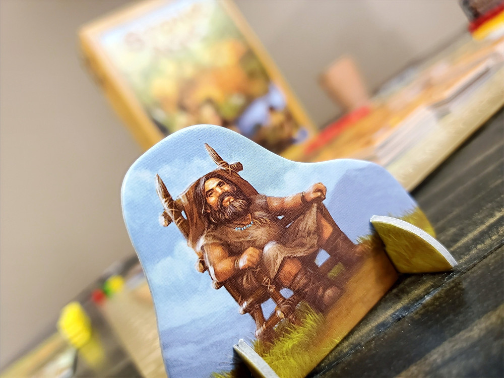 The first player marker in Stone Age