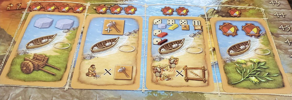 The Civilization Cards in Stone Age