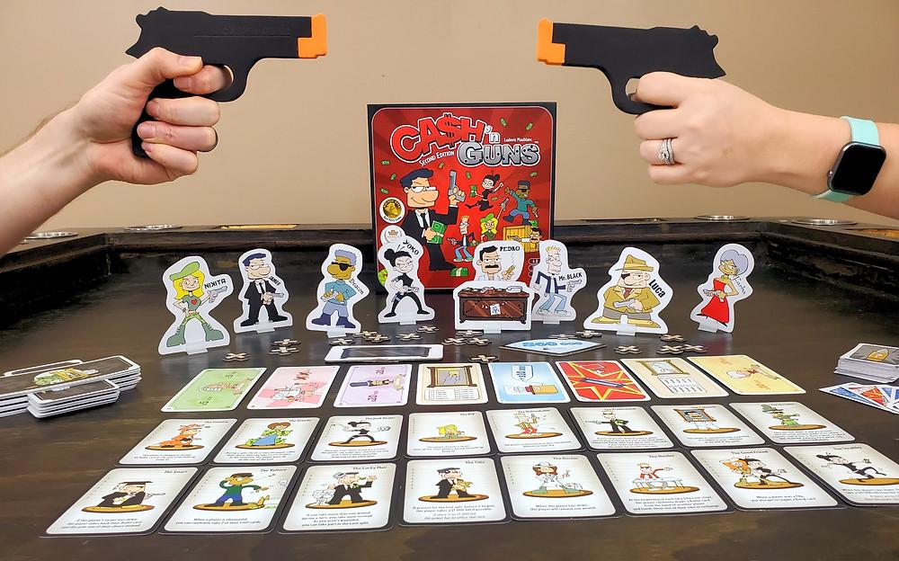 Cash 'n Guns Board Game