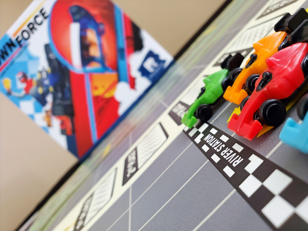 A race to the finish in Downforce