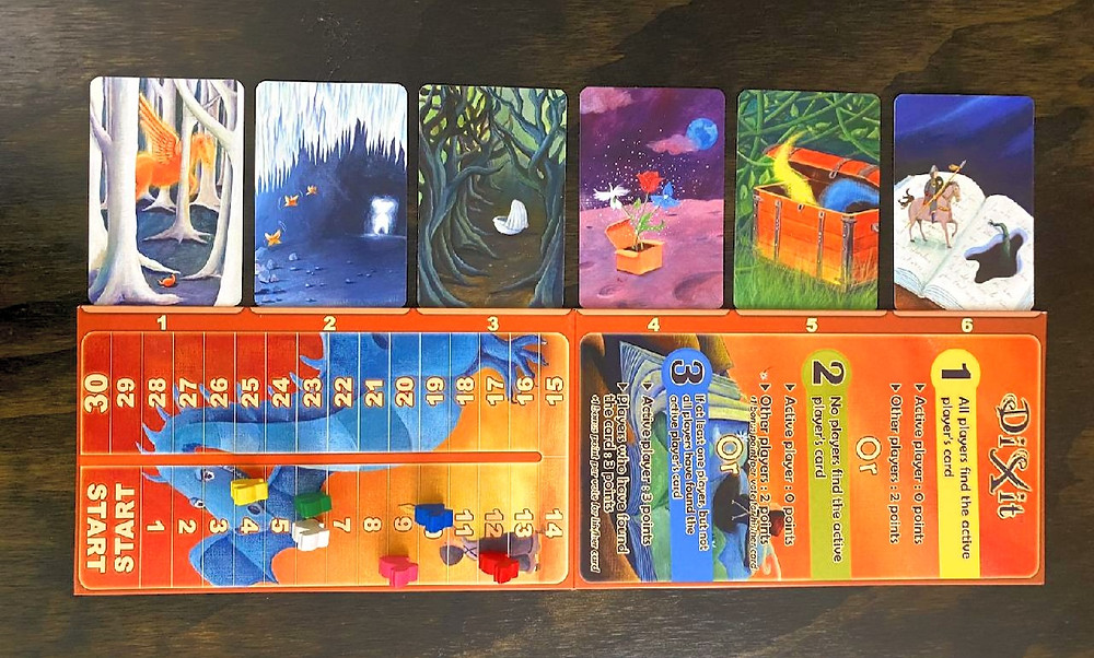 Dixit Game Board