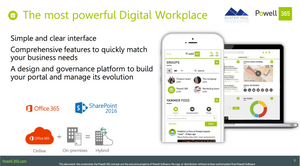 Powell 365: the most powerful digital workplace