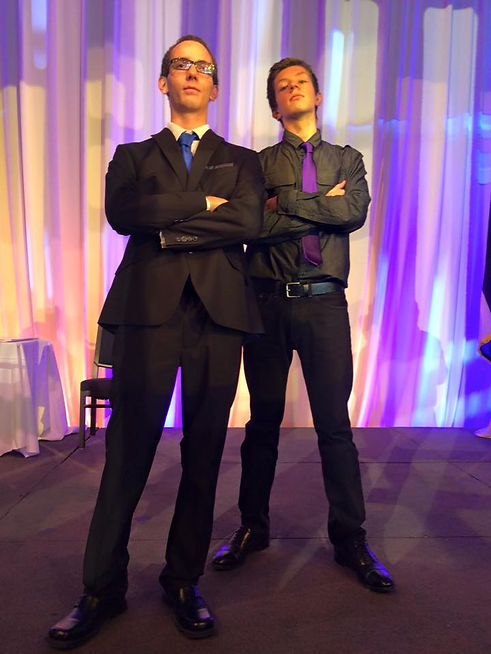 RJ and Owen at the Celebration for Young Entreprenuers (CYE) 2015