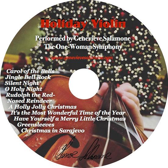 Holiday Violin CD