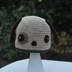Crocheted Dog Hat
