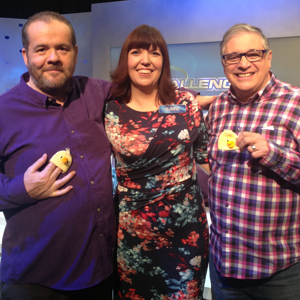 L-R: Pat, me, Barry after the show