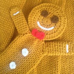 Gingerbread Man Scarf