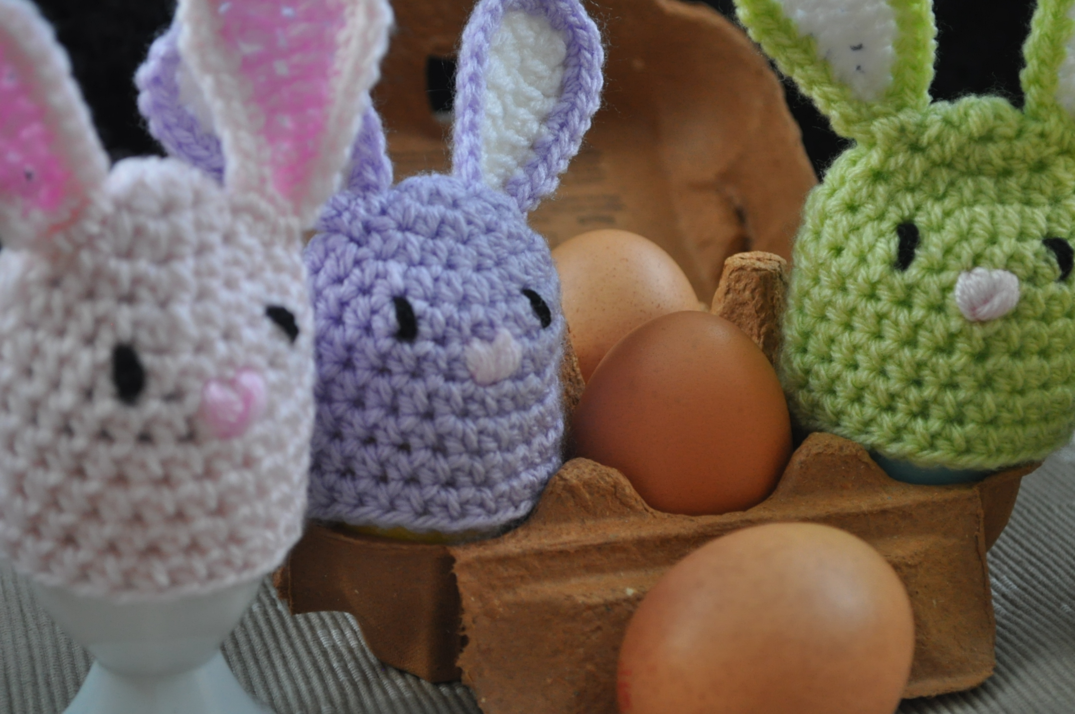 Bunny Egg Cosies