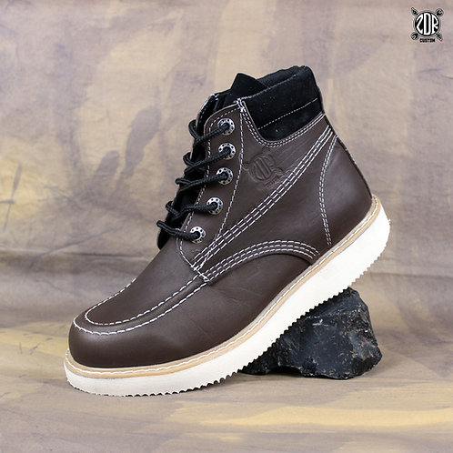 Dark Brown Short Boot