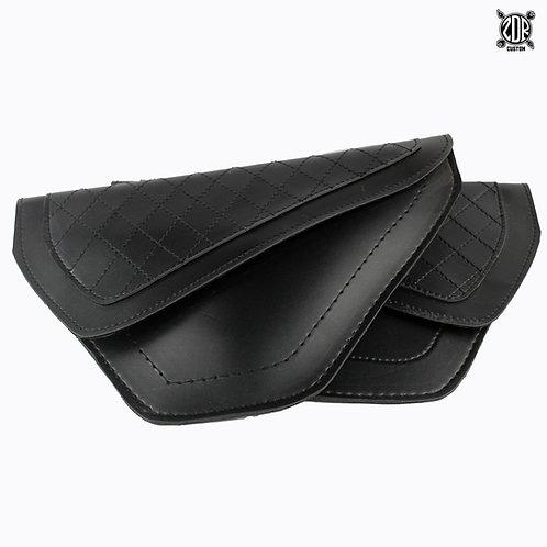 Flat Cross Stitch Side Bags (pair)