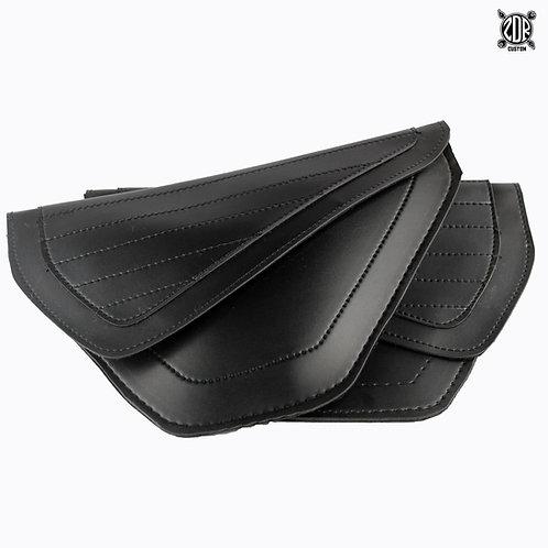Bolsas Laterales Negras flat (par)