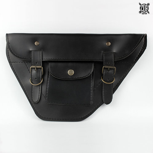Flat Double Strap Side Bags (pair)