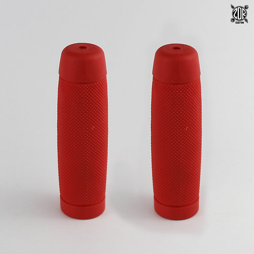 Red Rubber Grips