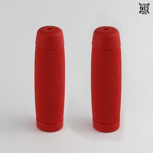 Puños de Goma Rojos
