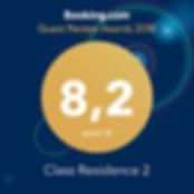 Il Class Residence Torino anche nel 2018 è entrato a pieno titolo nei Guest Review Award, con un punteggio ancora più alto degli anni passati. Un grazie a tutti i nostri ospiti che stanno premiando il nostro impegno a fornire servizi ed assistenza sempre migliori.