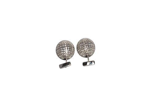 Kinēsis perforated cufflinks