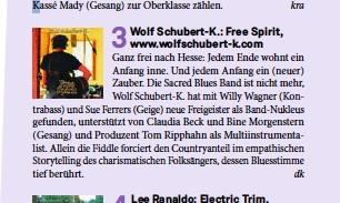 Rezension im Journal Frankfurt