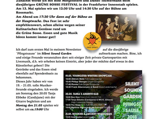 Der Mai Newsletter