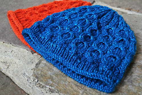 Cabling 101 Hat by Cynthia Spencer