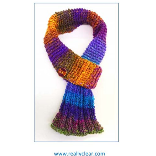 Easy Looped Scarf by Cynthia Spencer
