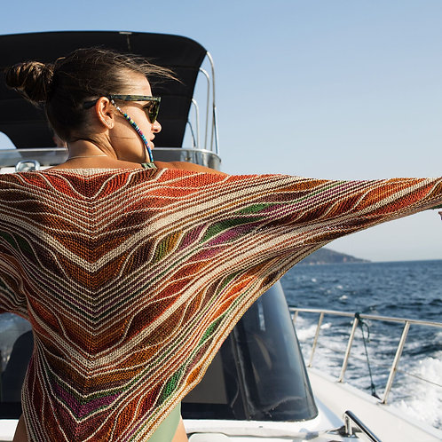 Butterfly/Papillon Shawl by Marin Melchior