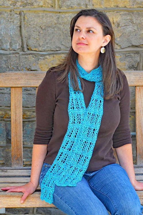 No-Fail Lace Scarf by Cynthia Spencer