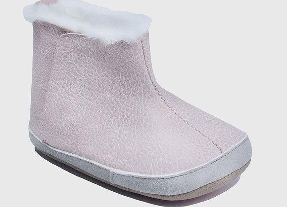 ro + me Pink Ryan Cozie Boot Baby Shoes