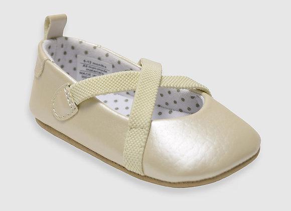 ro + me Caroline Baby Shoes, Gold