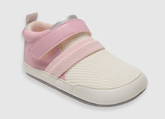 rp + me Jill Athletic Baby Shoes, Pink