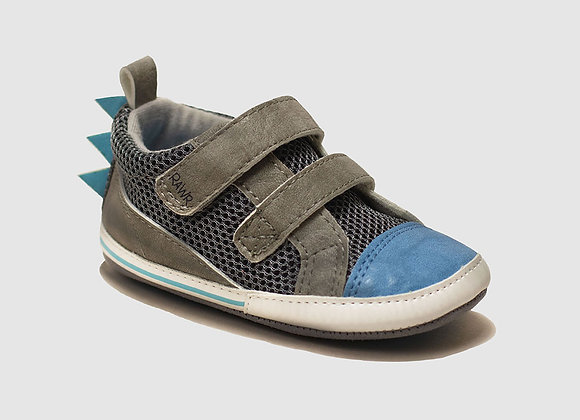 ro + me Blue Dinosaur Baby Shoes