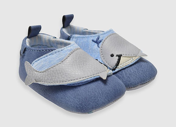 ro + me Wallace Baby Shoes, Blue