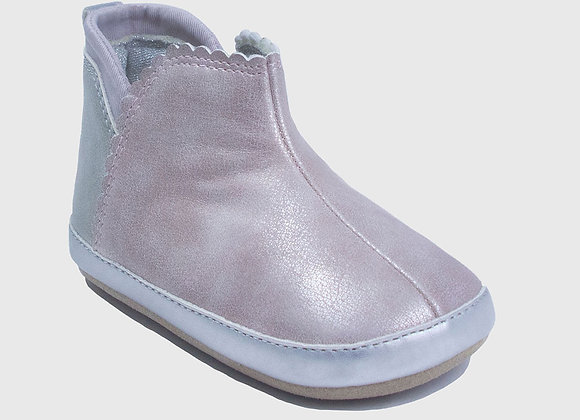 ro + me Pink Chelsea Boot Baby Shoes