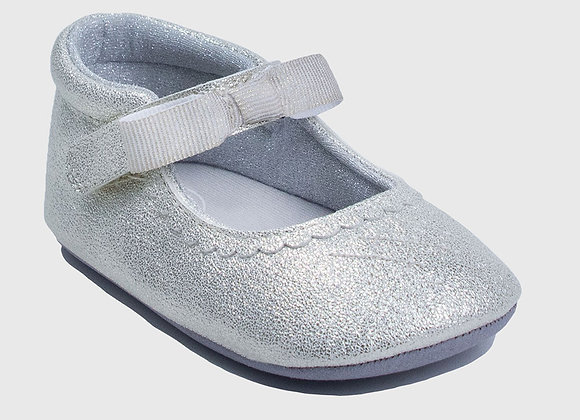 ro + me Metallic Champagne Valerie Mary Jane Baby Shoes