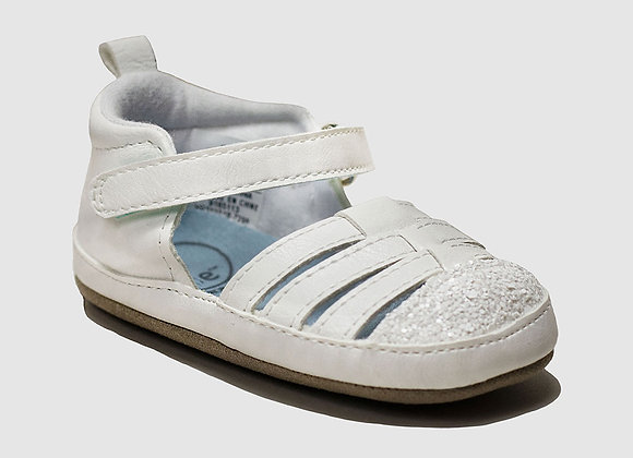 ro + me White Taylor Baby Sandals